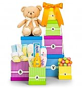 Baby Gift Baskets: New Arrival Baby Gift Tower