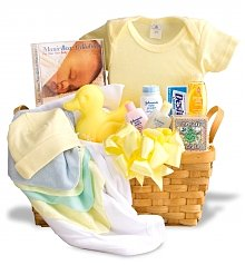 Baby Gift Baskets: Welcome Home Baby Basket